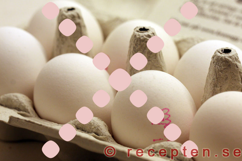 allergisk mot ägg