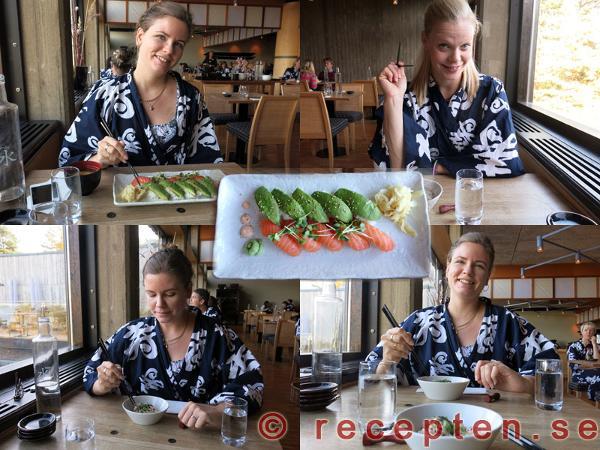 japansk middag yasuragi