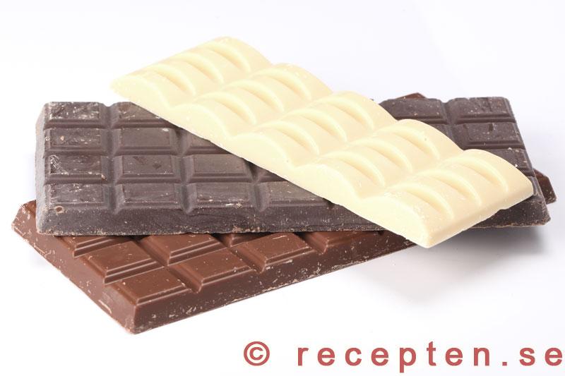 baka med mörk choklad
