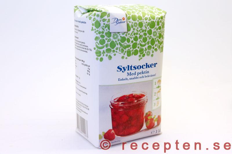 kan man använda syltsocker som vanligt socker