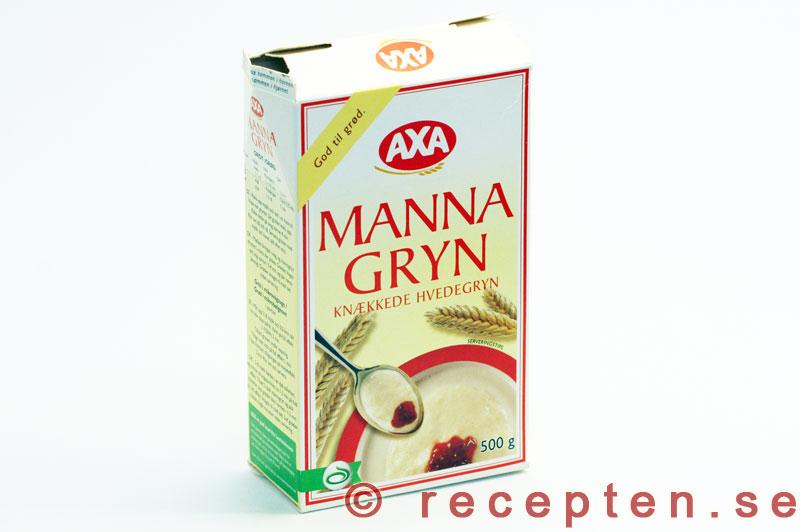 innehåller mannagryn gluten