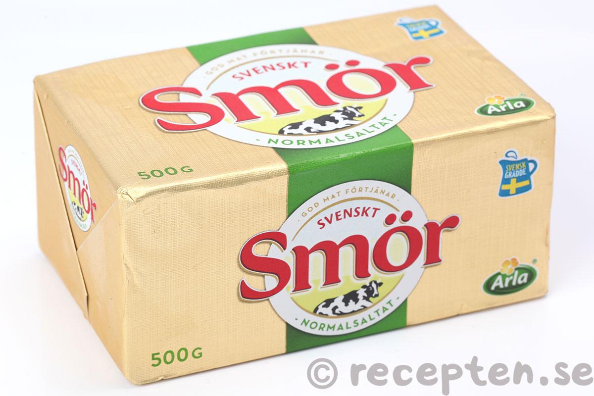 smör eller margarin i bakning