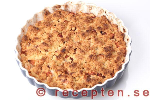 äppelkaka havregryn kokos