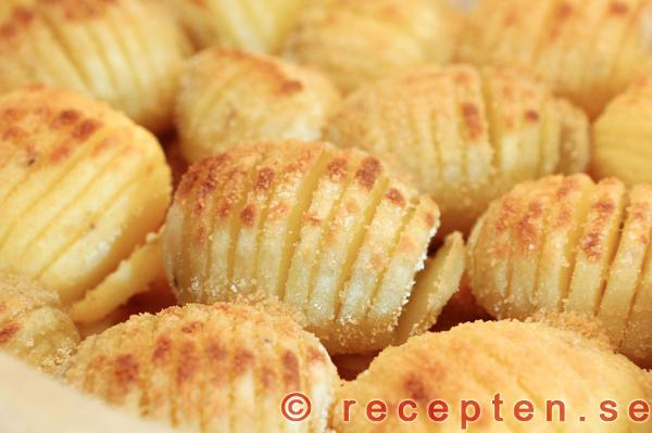 potatishalvor i ugn parmesan