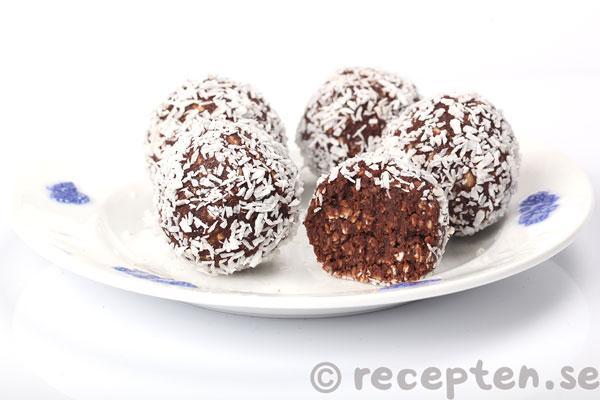 en chokladboll kalorier