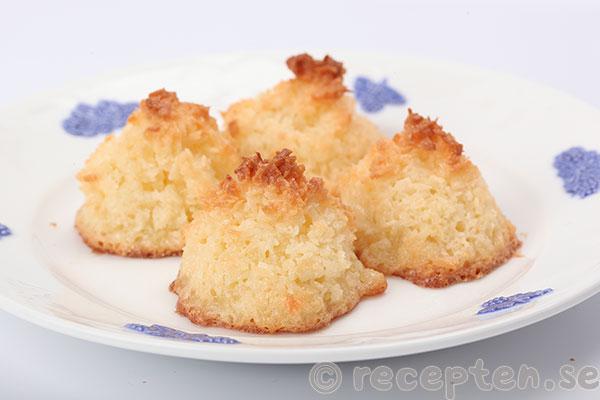 Uppdaterat recept: Kokoskakor