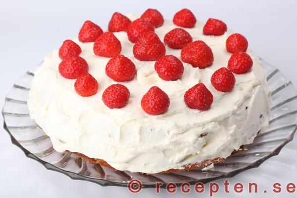 vanilj tårta recept