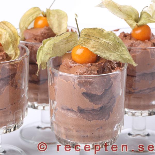 smälta choklad grädde