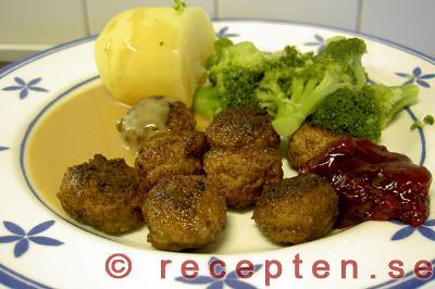 köttbullar lchf recept