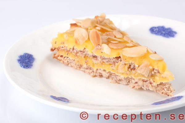 tårta med mandelmjöl