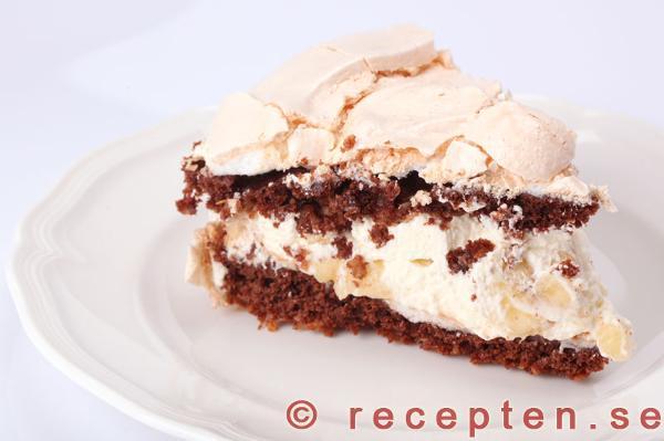 maräng choklad tårta