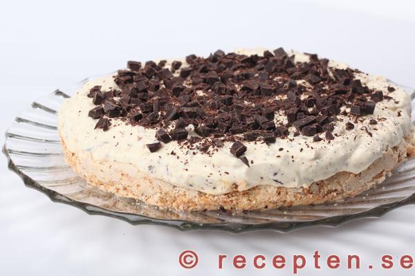 daimtårta med maräng