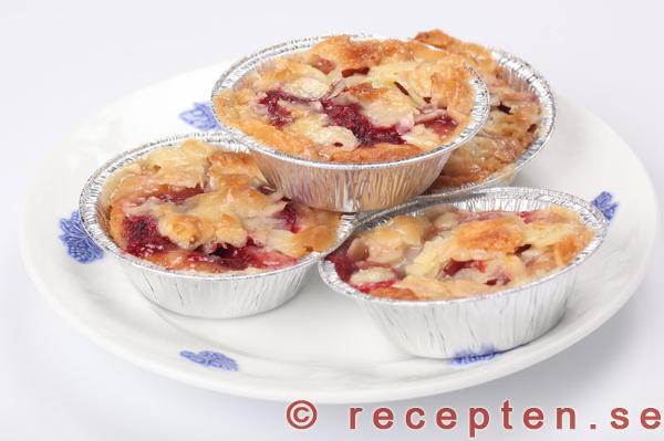muffins med hallon