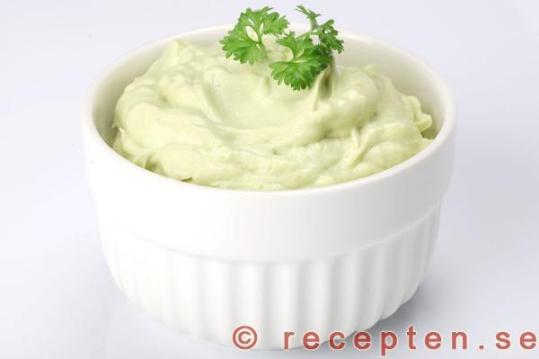 Guacamole turkisk yoghurt
