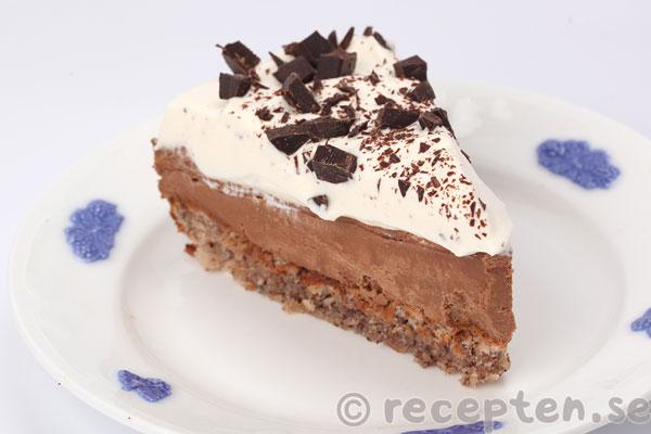 chokladtårta med fyllning recept