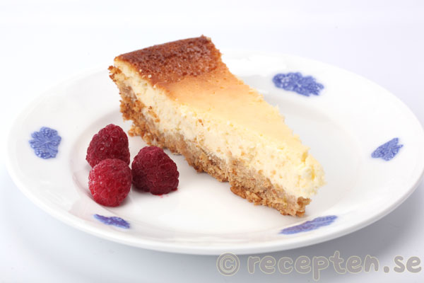 klassisk cheesecake