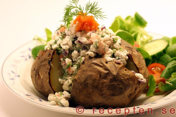 bakad potatis röra
