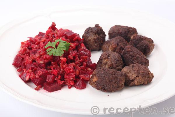 Uppdaterat recept: Julköttbullar med julkryddor