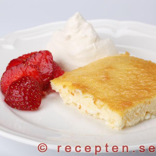 glutenfri ostkaka recept