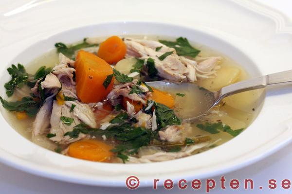 klar soppa recept