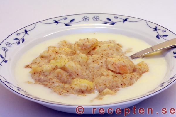 äppelgröt med ris