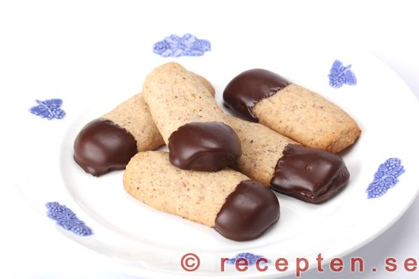 småkakor med choklad