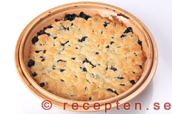 klassisk blåbärspaj recept