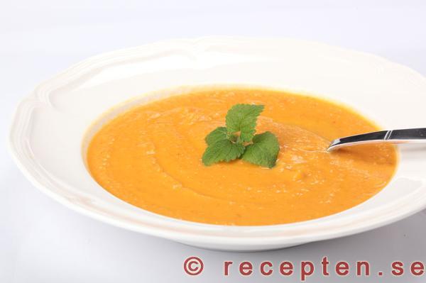 soppa på sötpotatis