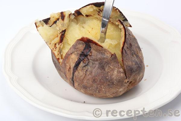 Grundrecept på Bakad potatis