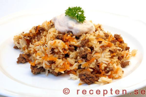 nasi goreng köttfärs