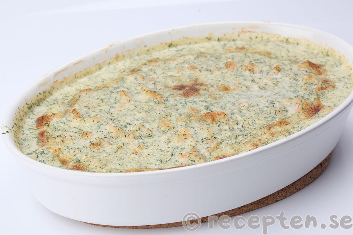 fiskgratäng recept torsk