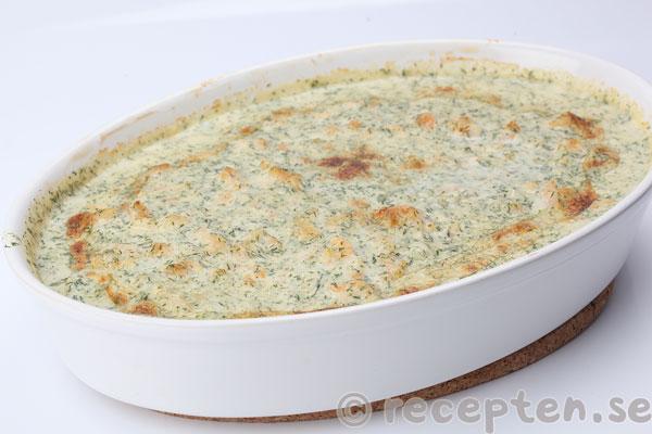 Nytt recept: Fiskgratäng