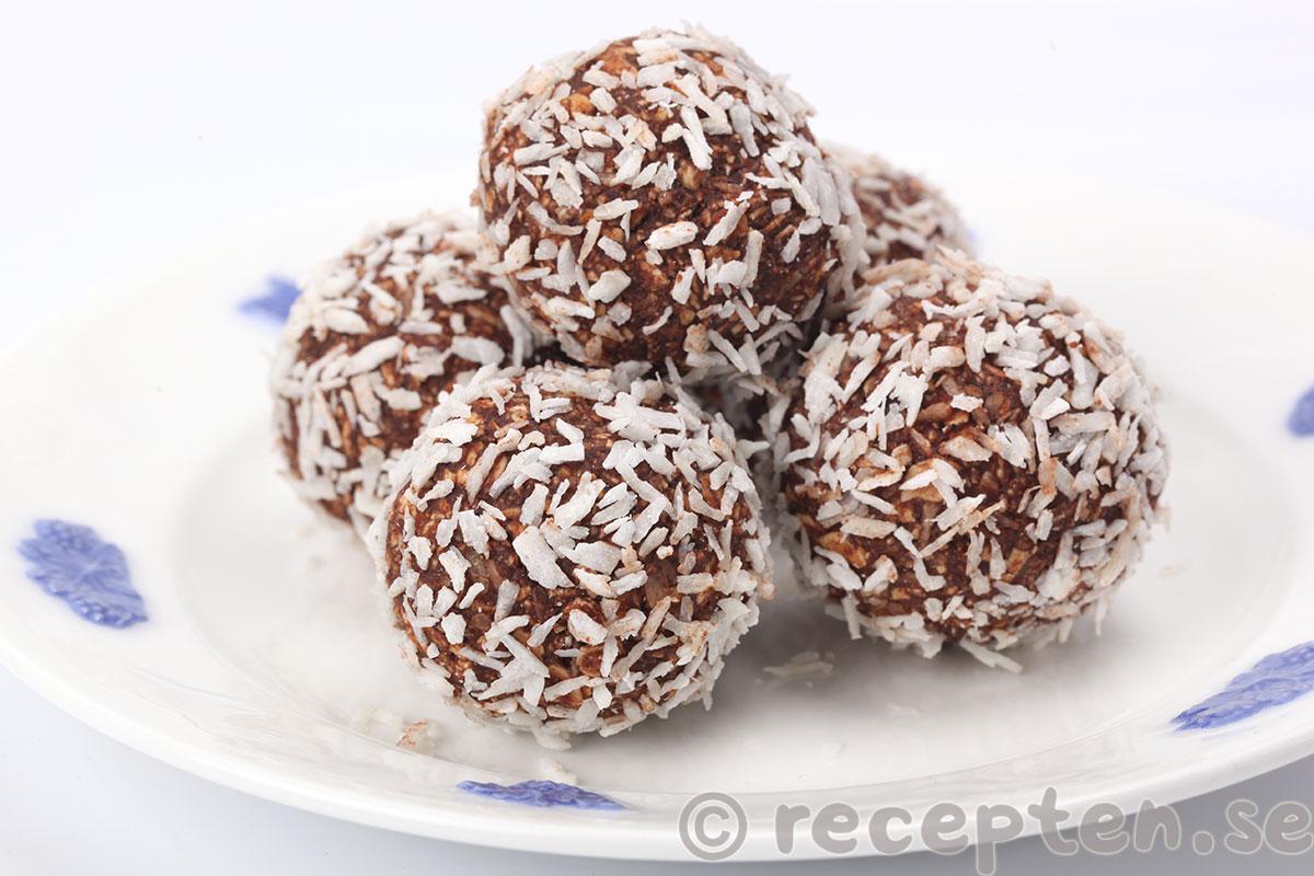 recept till kokosbollar