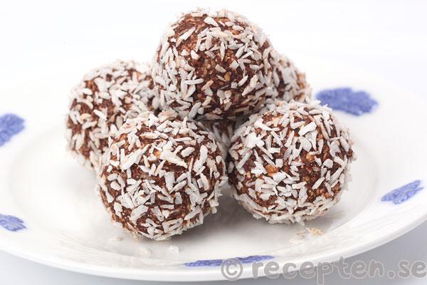 lchf chokladbollar havregryn