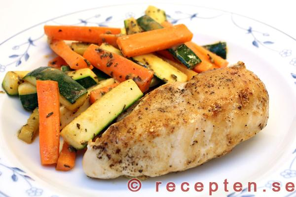 recept med zucchini