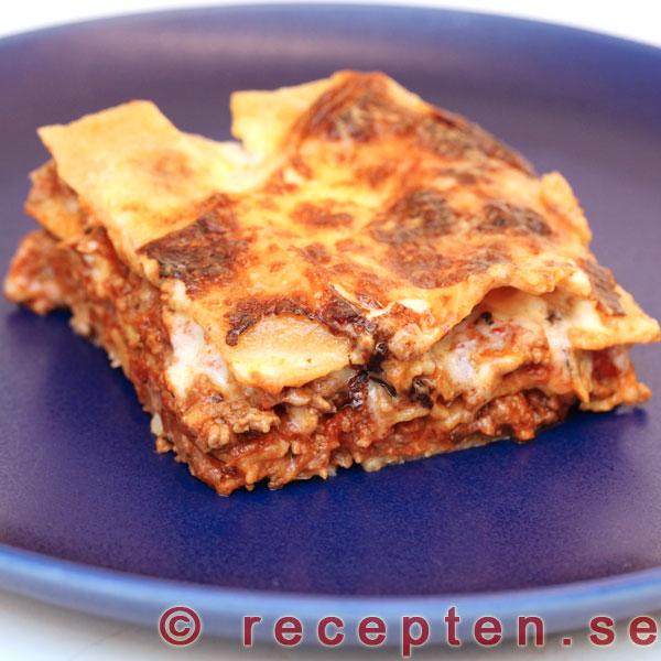 bechamelsås till lasagne recept